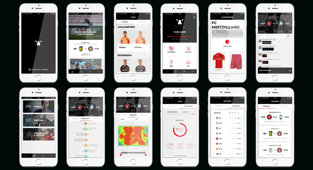 New FC Midtjylland fan enagement app from MANy Digital